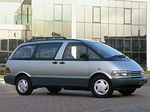 Toyota Previa 4 дв. минивэн Previa