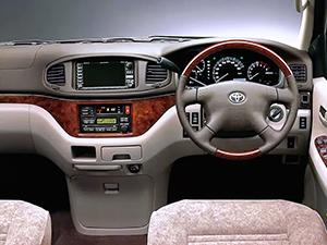 Toyota Regius 4 дв. минивэн Regius