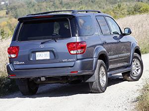 Toyota Sequoia 5 дв. внедорожник Sequoia