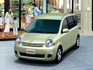 Toyota Sienta 5 дв. минивэн Sienta
