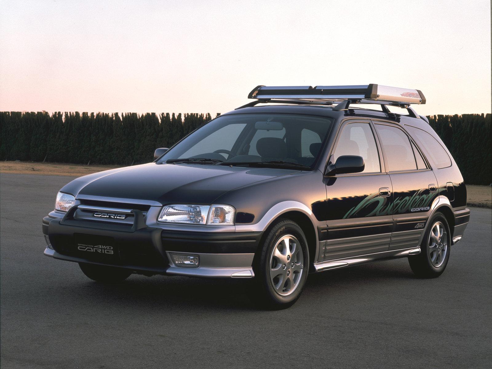 Toyota (Тойота) Sprinter Carib 1988-1995 г.