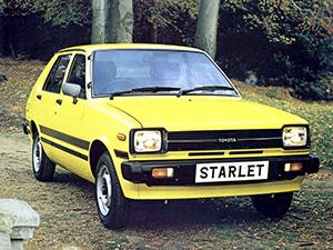 Toyota Starlet 5 дв. хэтчбек Starlet