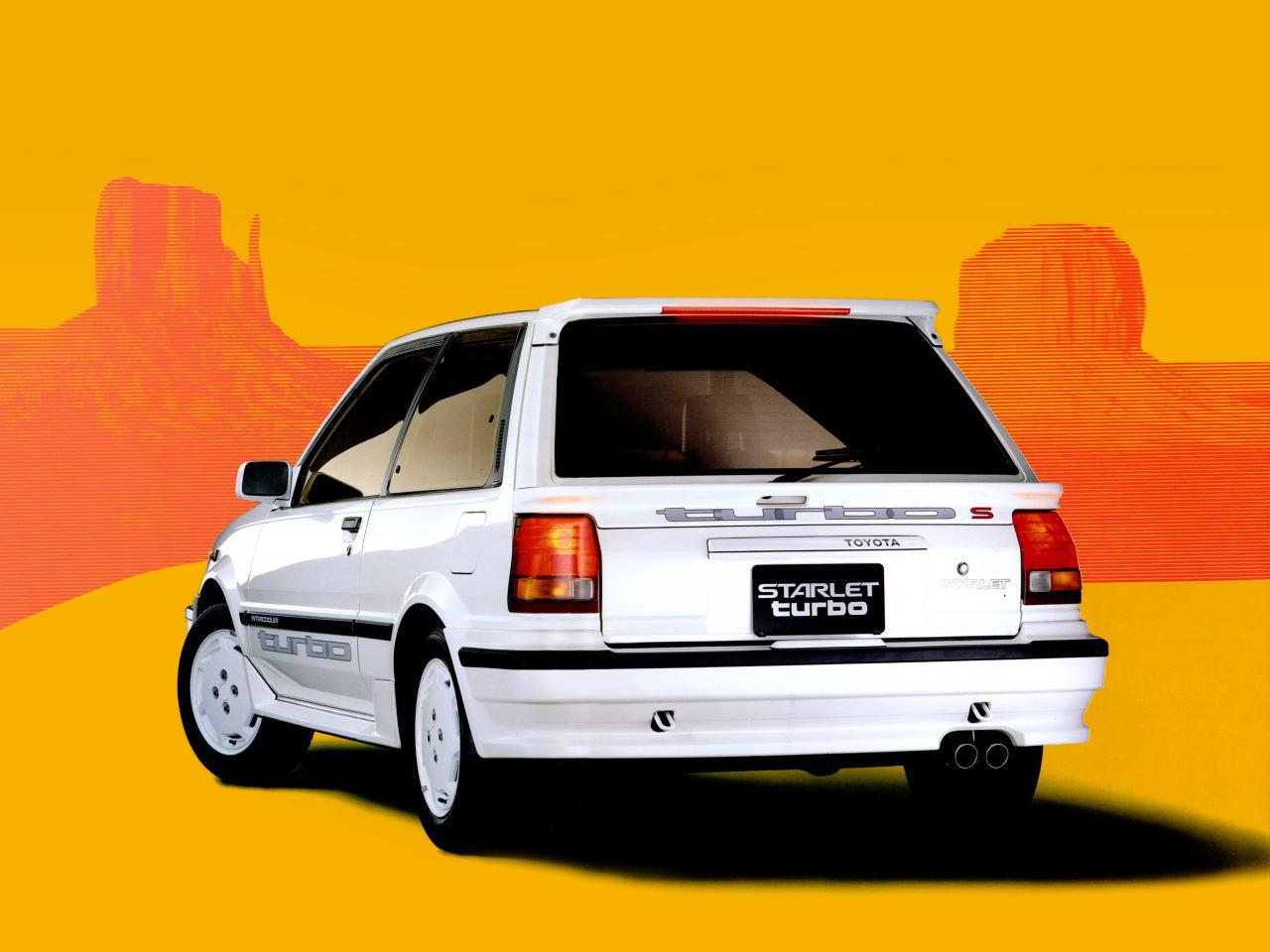 Toyota (Тойота) Starlet 1983-1985 г.