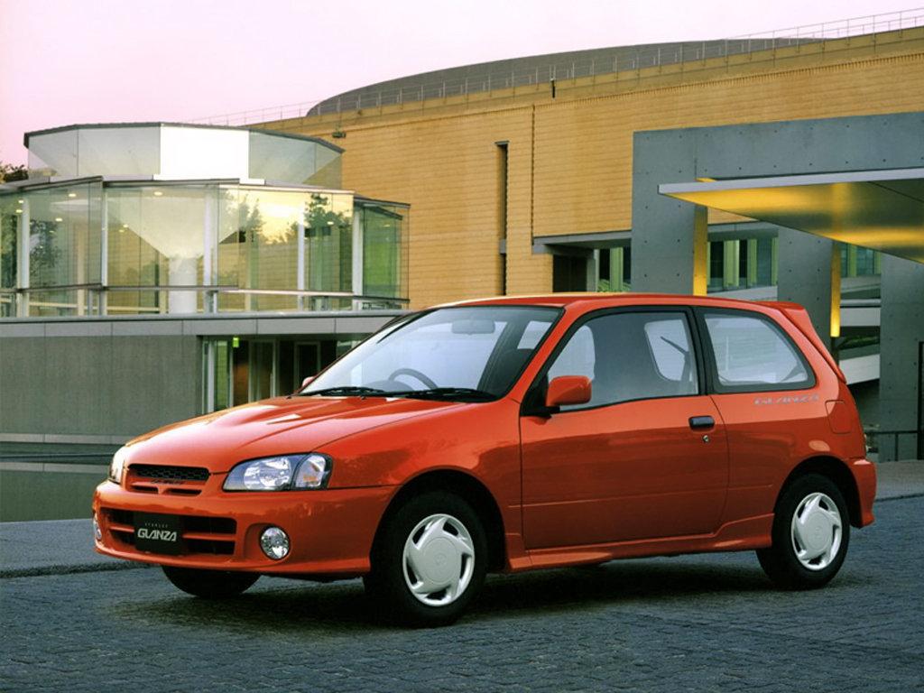 Toyota (Тойота) Starlet 1996-1999 г.