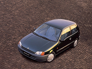 Toyota Starlet 3 дв. хэтчбек Starlet