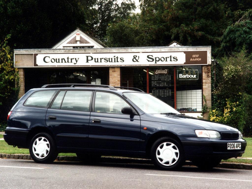 Toyota (Тойота) Carina E Stationwagon 1993-1996 г.