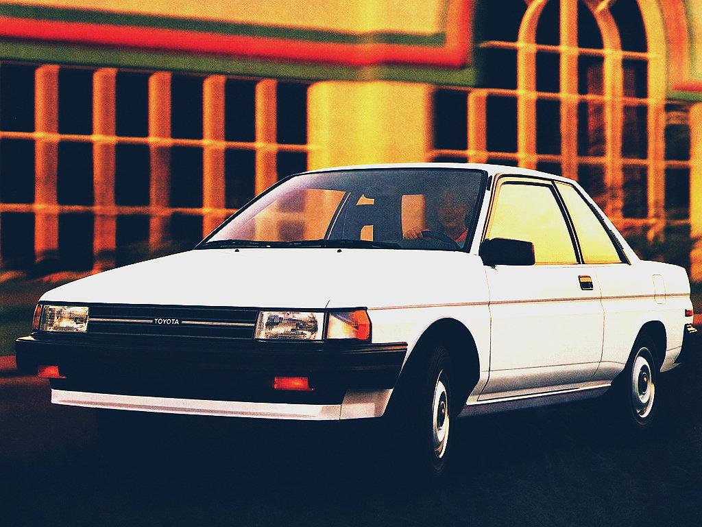 Toyota (Тойота) Tercel Coupe 1981-1982 г.