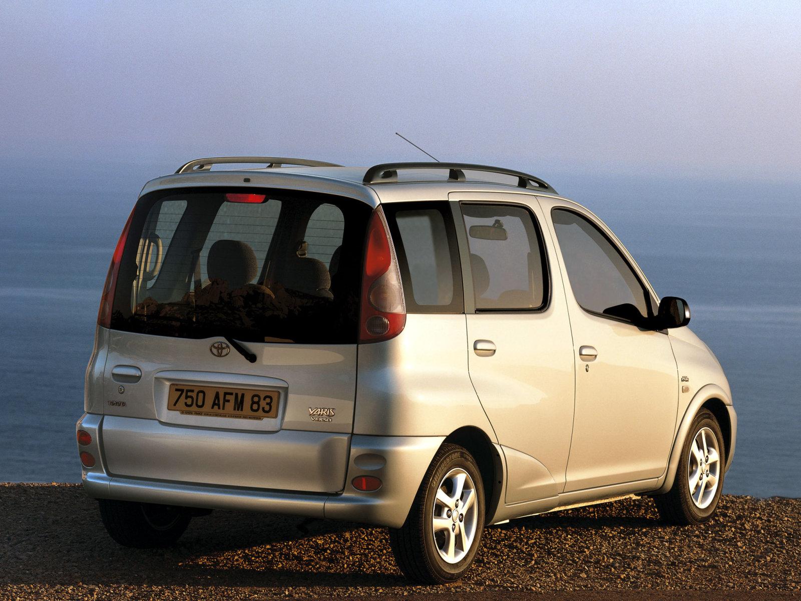 Toyota (Тойота) Yaris Verso 1999-2003 г.