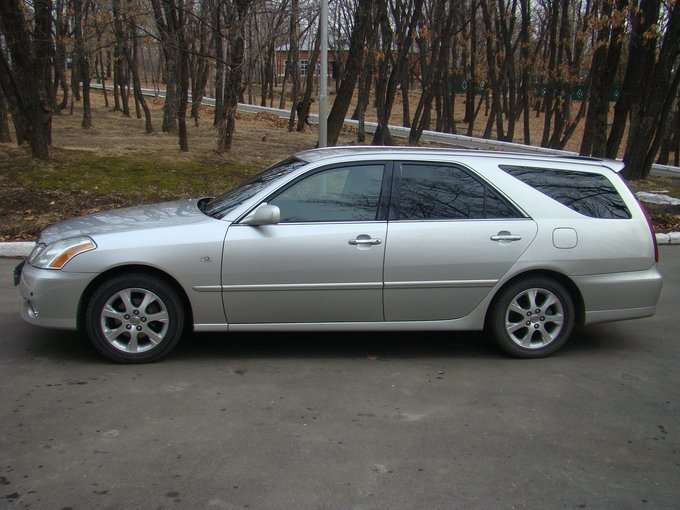Toyota (Тойота) Mark II Wagon Blit 2002-2004 г.