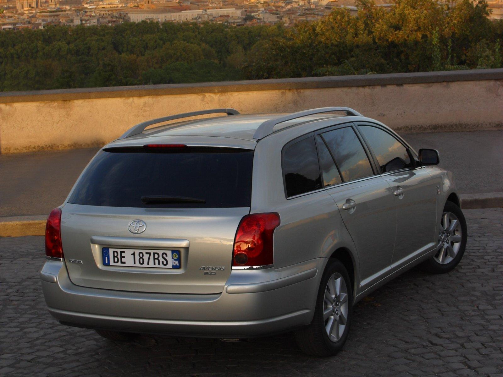 Toyota (Тойота) Avensis (T25) 2003-2006 г.