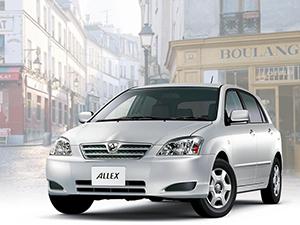 Toyota Allex 5 дв. хэтчбек (ZE12)