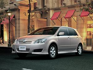 Технические характеристики Toyota Allex
