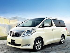 Технические характеристики Toyota Alphard