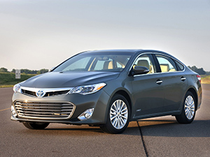 Технические характеристики Toyota Avalon