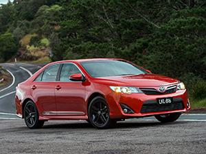 Технические характеристики Toyota Camry