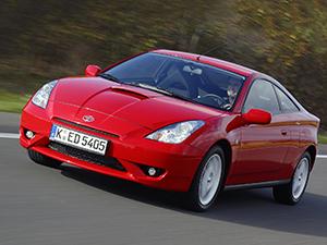 Технические характеристики Toyota Celica