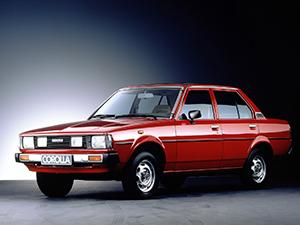 Corolla с 1980 по 1982