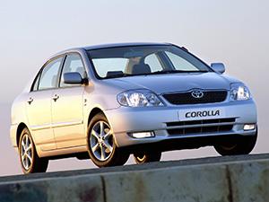 Corolla с 2003 по 2004