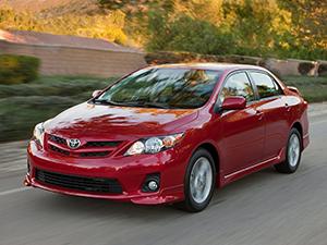 Corolla с 2010 по 2013