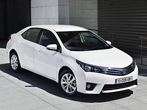 Технические характеристики Toyota Corolla