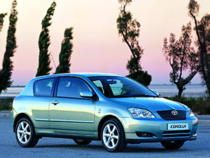 Corolla с 2000 по 2002