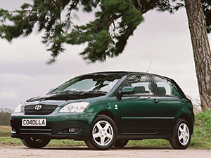 Corolla с 2002 по 2004