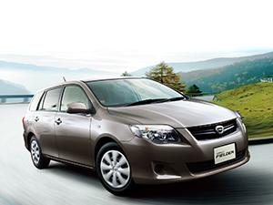 Технические характеристики Toyota Corolla Fielder