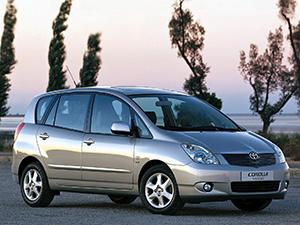 Технические характеристики Toyota Corolla Verso 2.0 D4-D 2002-2004 г.