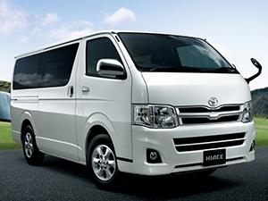 Технические характеристики Toyota Hiace