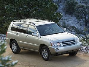 Технические характеристики Toyota Highlander 3.0 4WD 2000-2003 г.