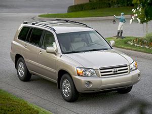 Highlander с 2003 по 2007