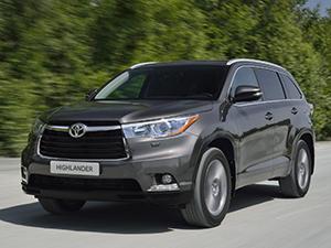 Технические характеристики Toyota Highlander