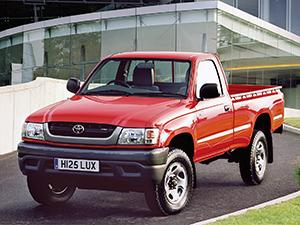 Технические характеристики Toyota Hilux Extra Cab 2.7 4WD 2001-2004 г.