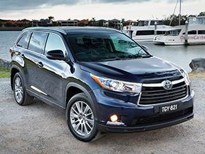 Технические характеристики Toyota Kluger