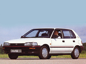 Liftback с 1987 по 1992