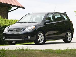 Технические характеристики Toyota Matrix 1.8 16V AWD 2005-2007 г.