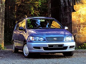Технические характеристики Toyota Picnic 2.2 TD 1996-2001 г.