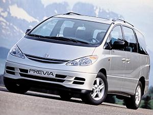Технические характеристики Toyota Previa