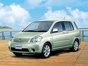 Технические характеристики Toyota Raum