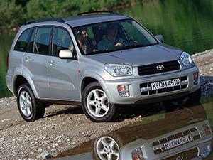 Технические характеристики Toyota RAV-4 2.0 D4-D 4WD 2000-2003 г.