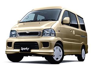 Технические характеристики Toyota Sparky