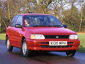 Технические характеристики Toyota Starlet 1.3 1990-1996 г.
