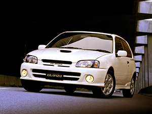 Технические характеристики Toyota Starlet