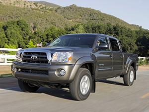 Технические характеристики Toyota Tacoma PreRunner Double Cab 4.0 2004-2012 г.