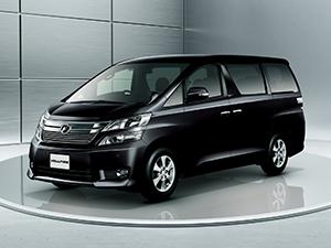 Технические характеристики Toyota Vellfire