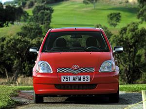 Технические характеристики Toyota Yaris 1.3 16v VVT-i 1999-2003 г.