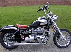 Triumph Bonneville классик America