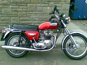Triumph Bonneville классик T 140 E