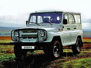 Технические характеристики УАЗ 3151