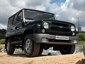 Технические характеристики УАЗ Hunter